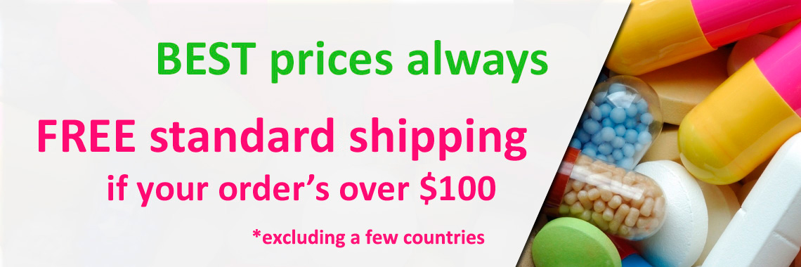 Free standard shipping for orders over $100