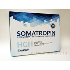 Somatropin by Gentech (HGH)