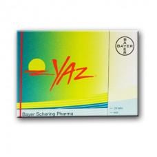 Yaz® (Drospirenone + Ethinyl Estradiol)